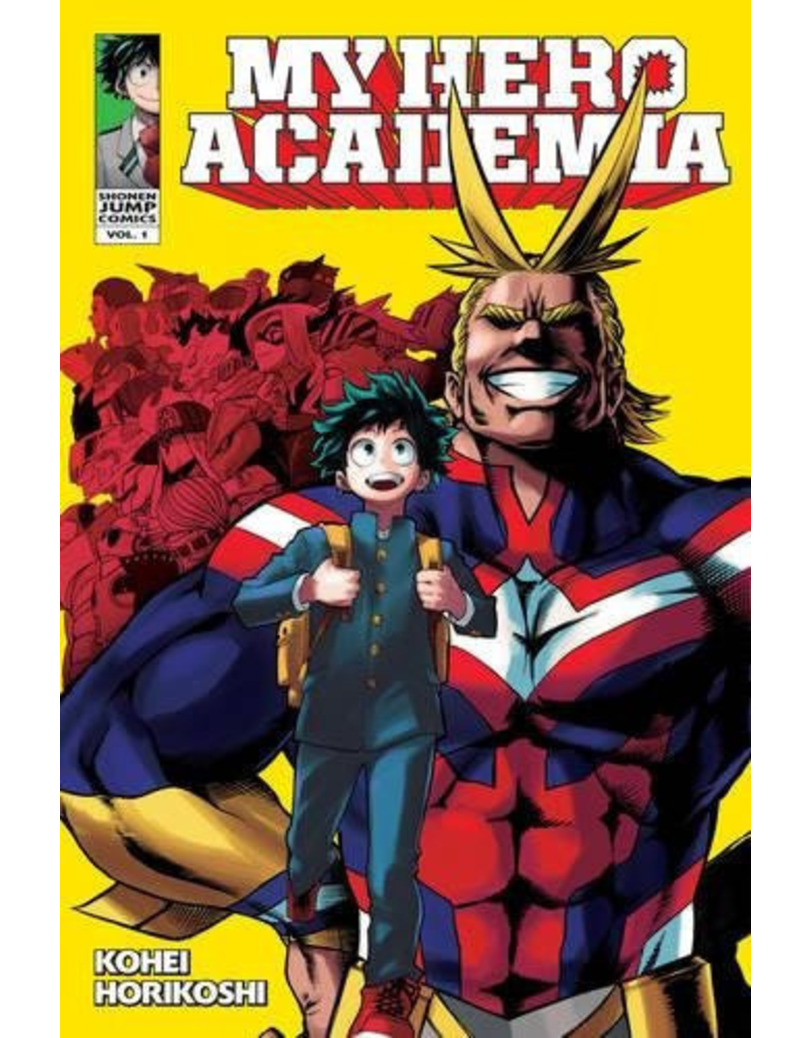 My Hero Academia Volume 01 (English Version)