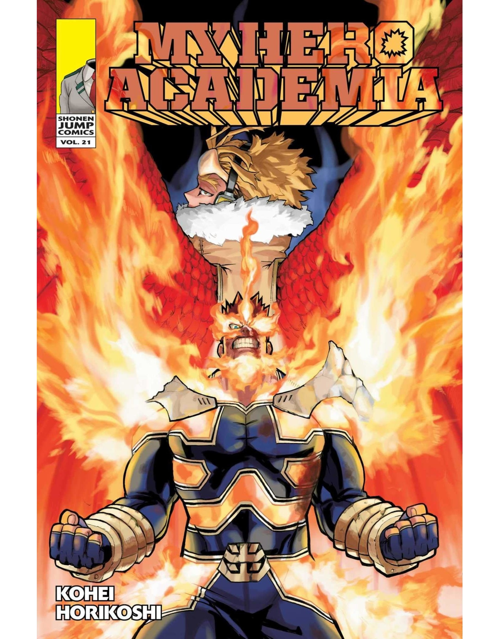 My Hero Academia Volume 21 (Engelstalig)