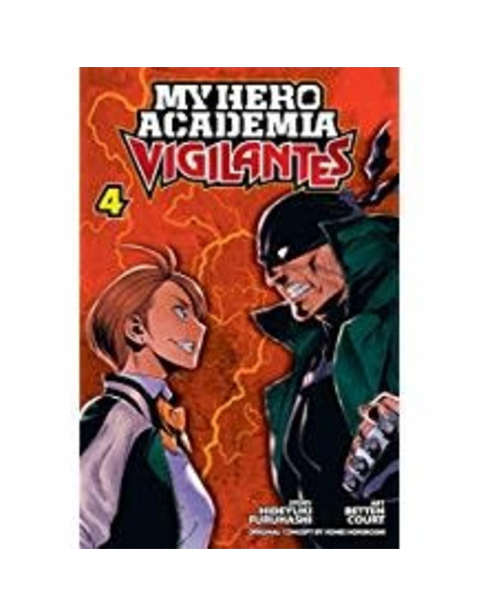 My Hero Academia: Vigilantes 4 (Engelstalig)