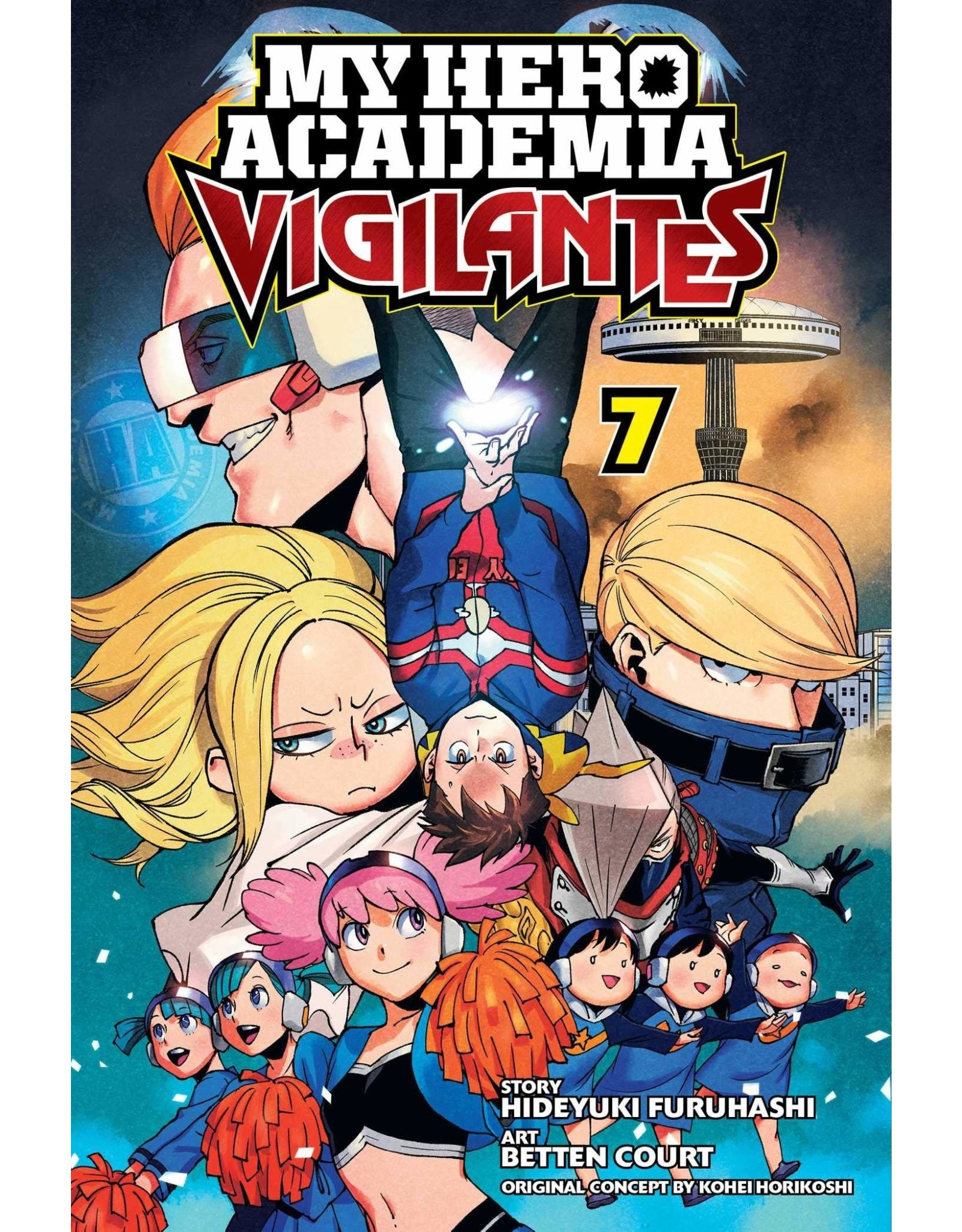 My Hero Academia: Vigilantes 7 (English Version)
