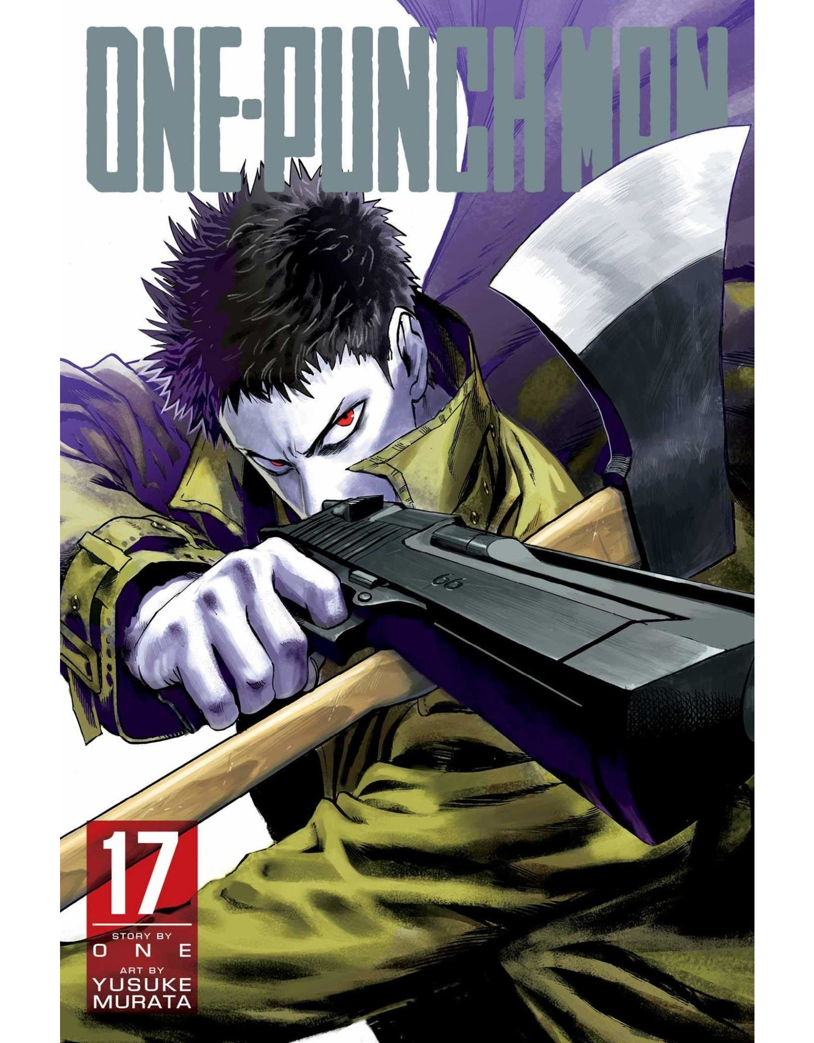 One-Punch Man Volume 17 (English Version)