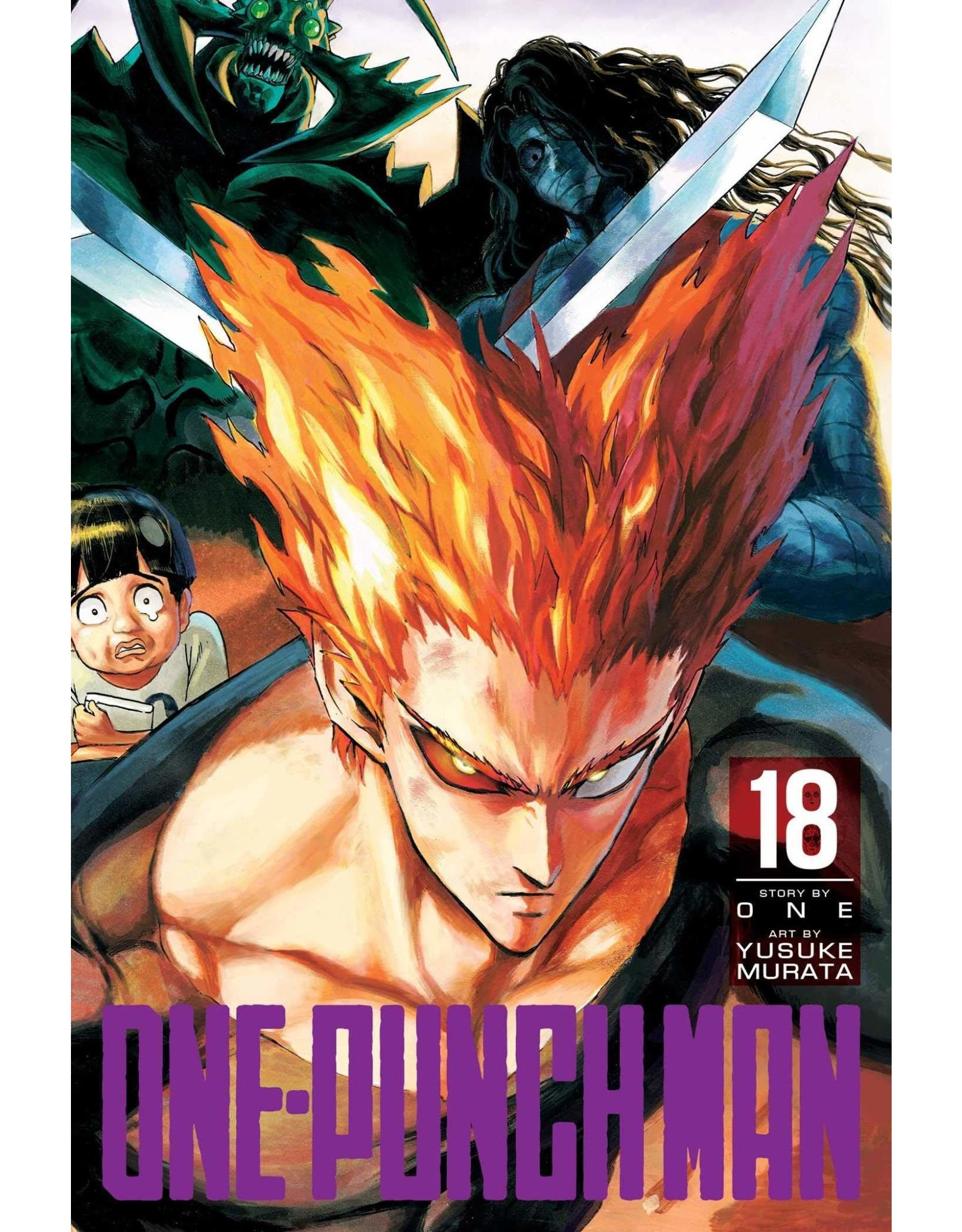One-Punch Man Volume 18 (English Version)
