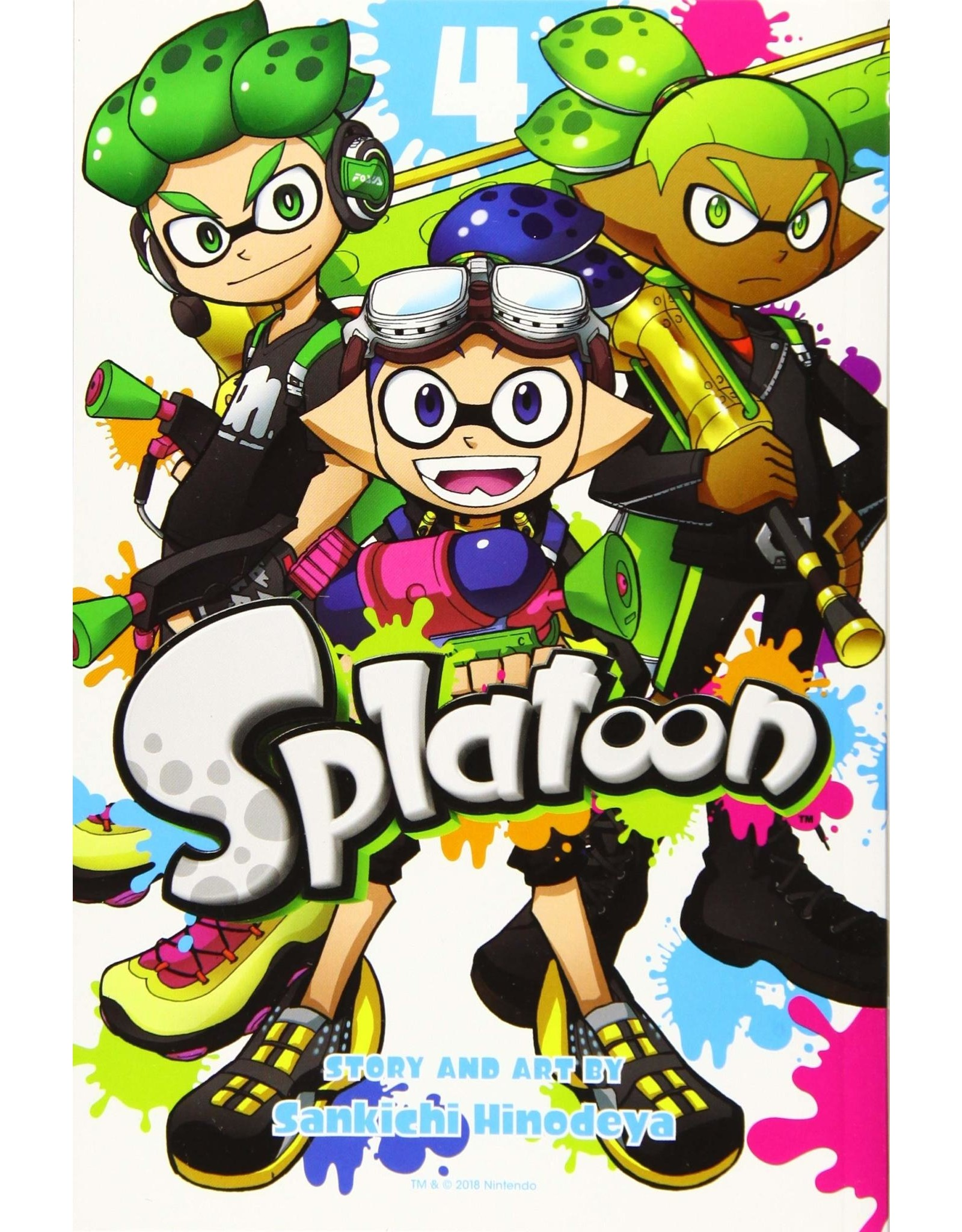 Splatoon 4 (Engelstalig)