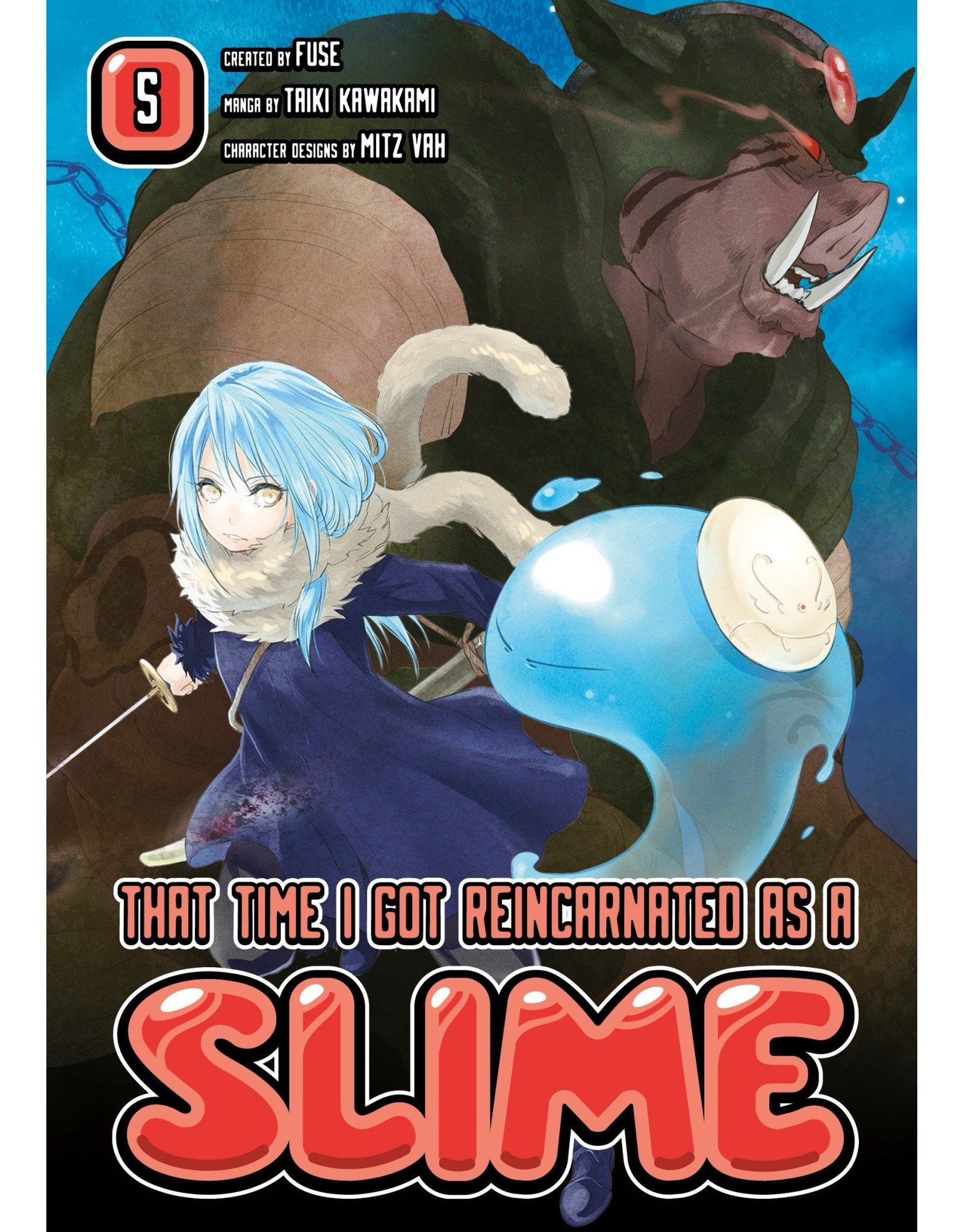 That Time I Got Reincarnated As A Slime 05 (Engelstalig)