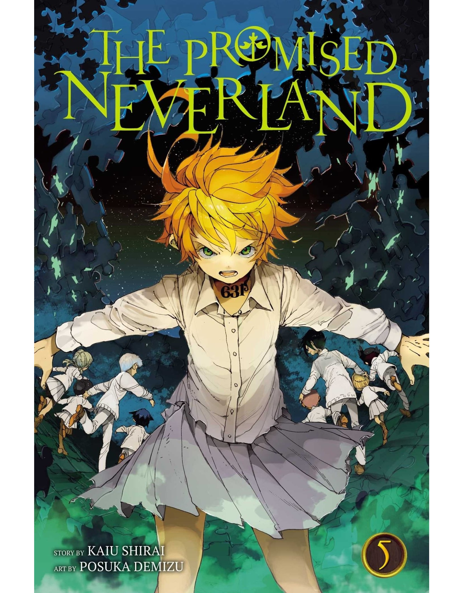 The Promised Neverland 05 (Engelstalig)