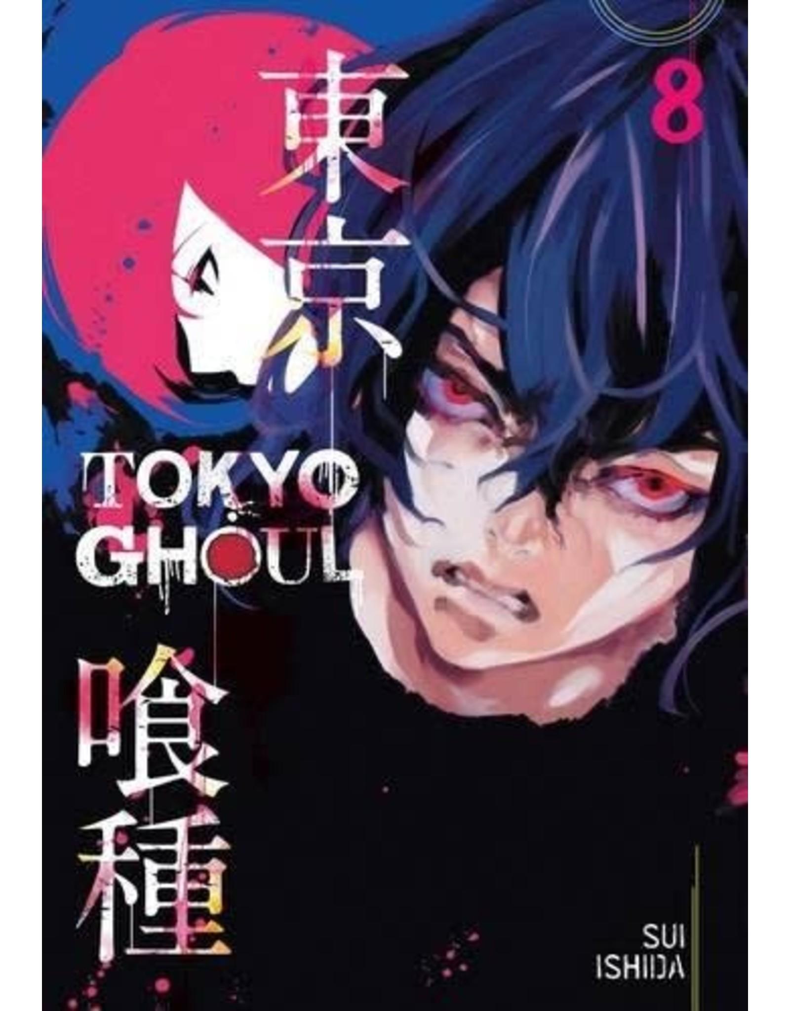 Tokyo Ghoul 08 (English Version)