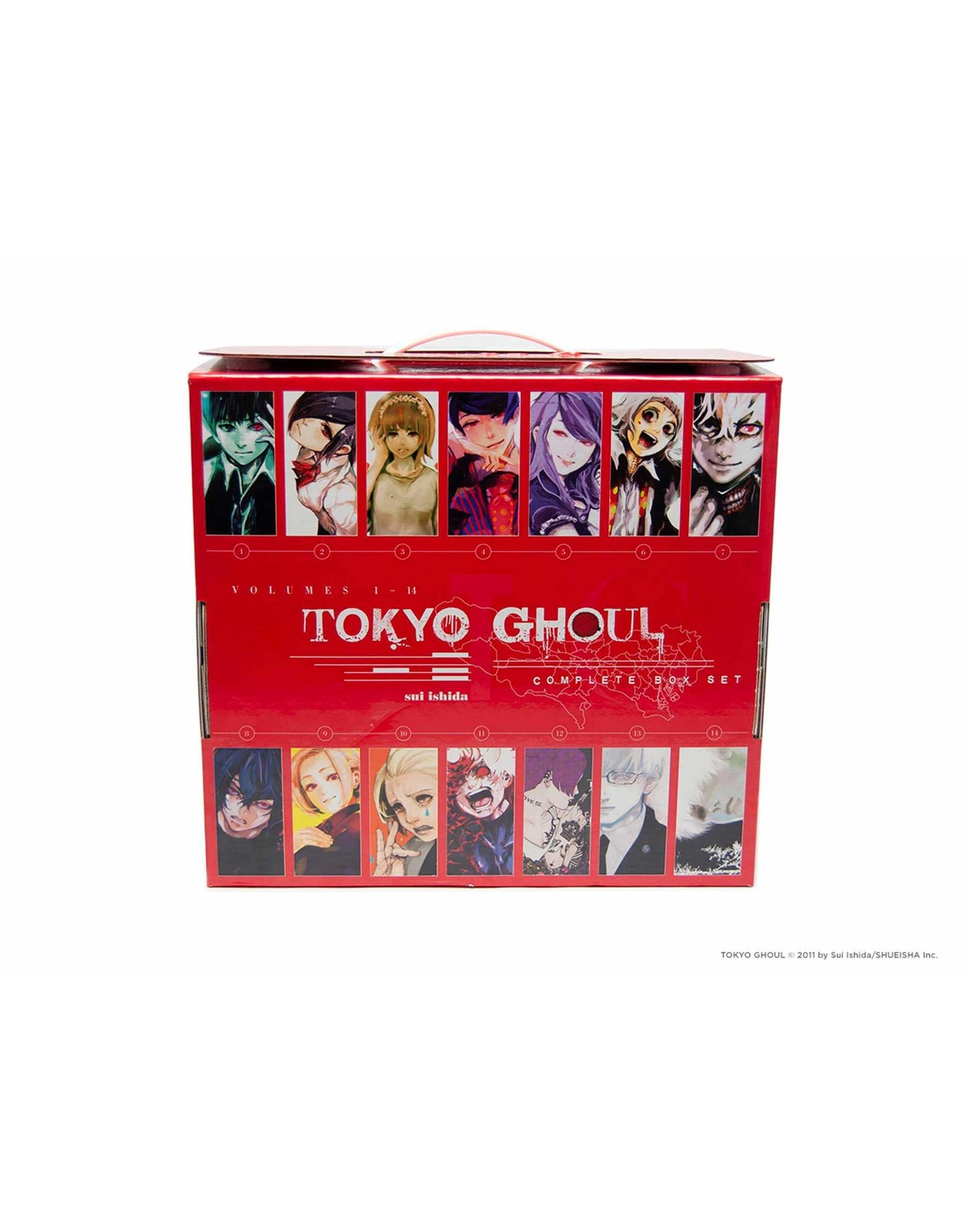 Tokyo Ghoul Complete Box Set (English Version)