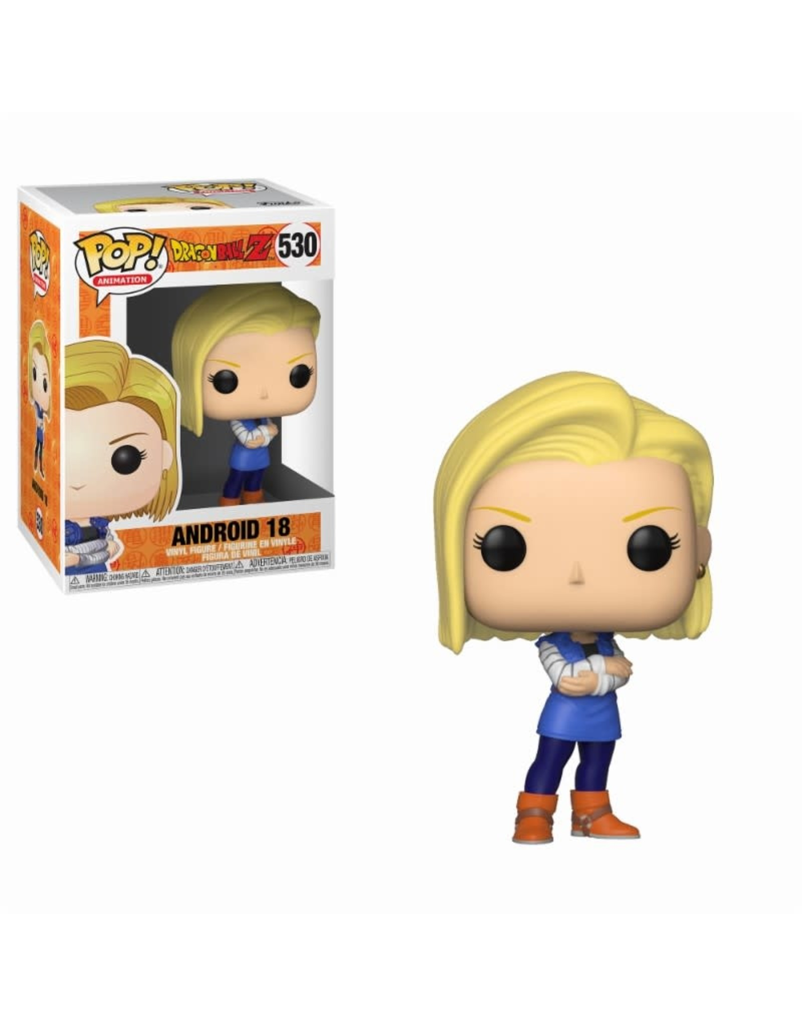 Dragon Ball Z - Android 18 - Funko Pop! Animation 530