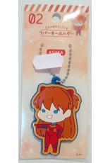 Evangelion Chibi Keychain Asuka