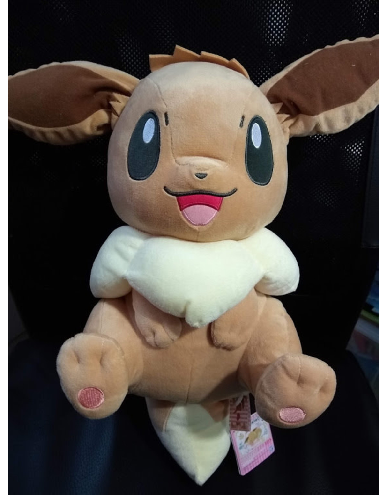 Eevee - Pokemon Plushie -  I Love Eievui Very Big Plush - 45cm (Japanese import)