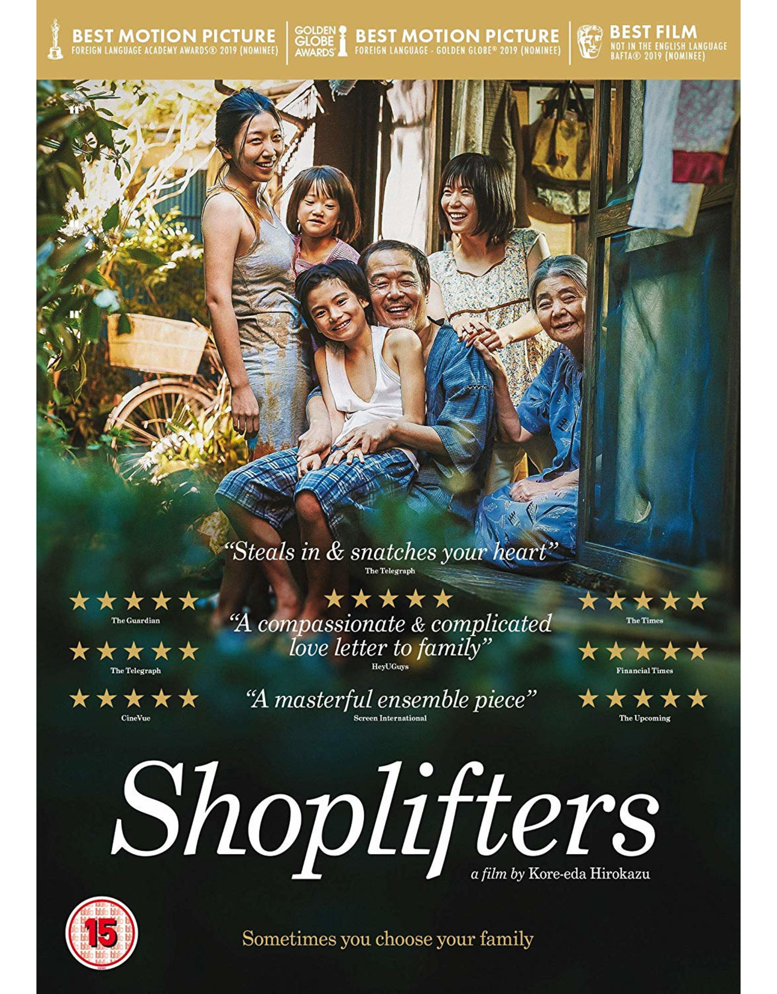 Shoplifters (DVD) - (Original version, English subtitles)