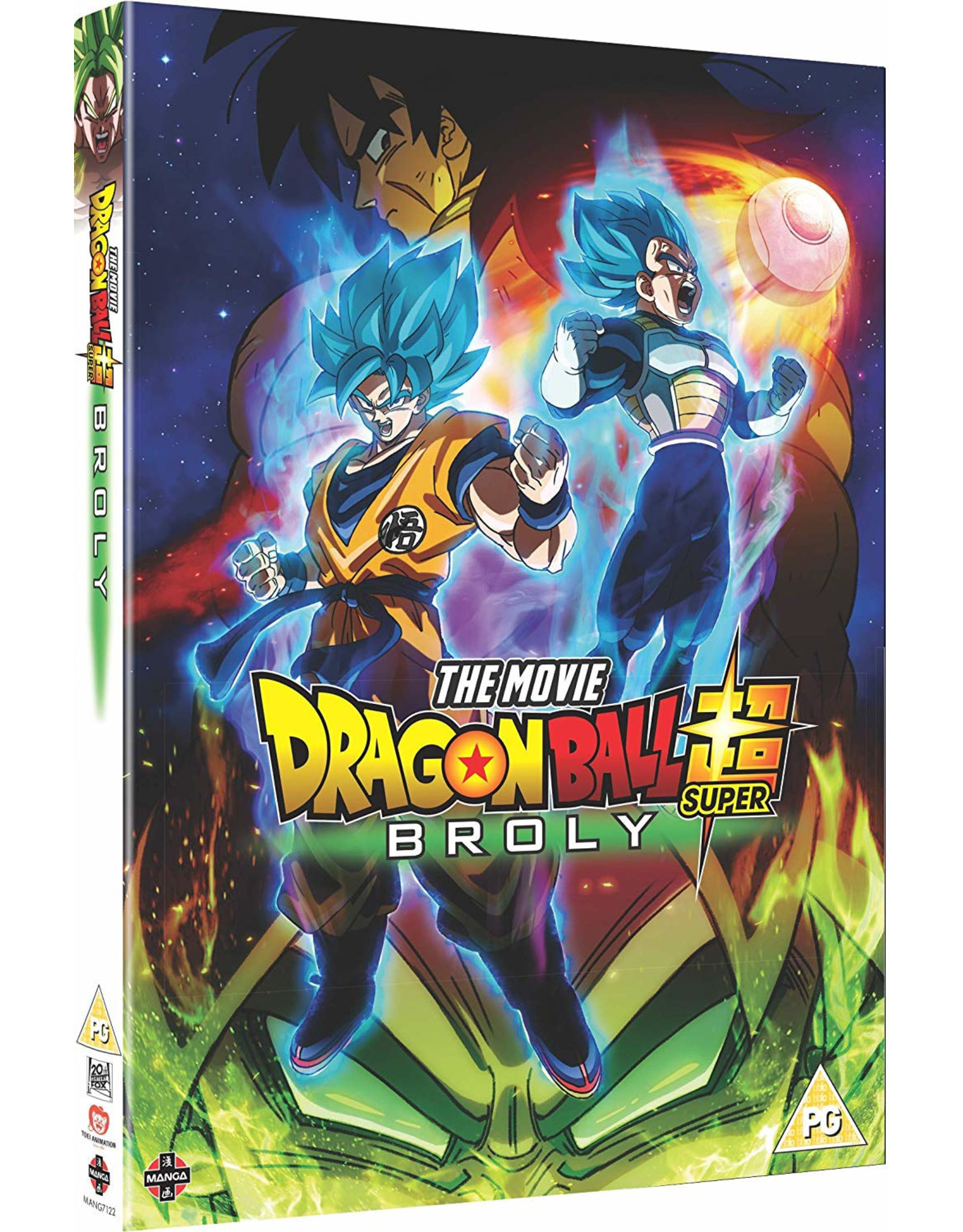 Dragon Ball Super:  Broly (DVD) - (Engelstalige ondertitels)