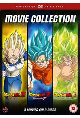 Dragon Ball Movie Trilogy: Battle Of Gods + Resurrection 'F' + Broly (DVD) - (Original version, English subtitles)