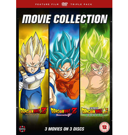 Dragon Ball Movie Trilogy: Battle Of Gods + Resurrection 'F' + Broly (DVD) - (Engelstalige ondertitels)