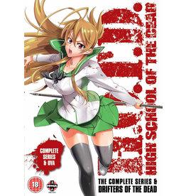High School of the Dead - All Episodes + OVA (DVD) - (Original version, English subtitles)
