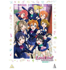 Love Live! School Idol Project - 1st Season (DVD) - (Original version, English subtitles)