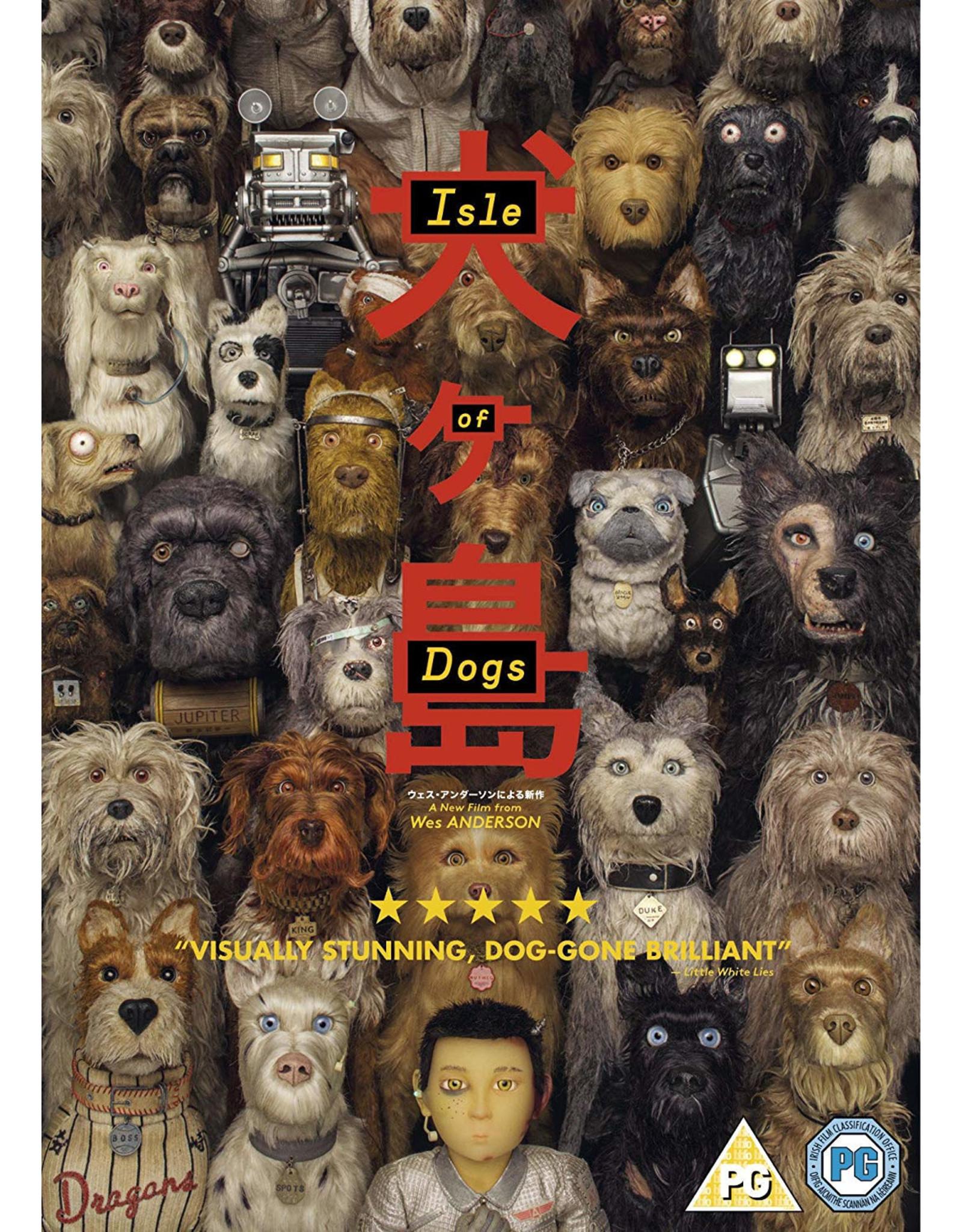 Isle of Dogs - DVD (Original version, English subtitles)