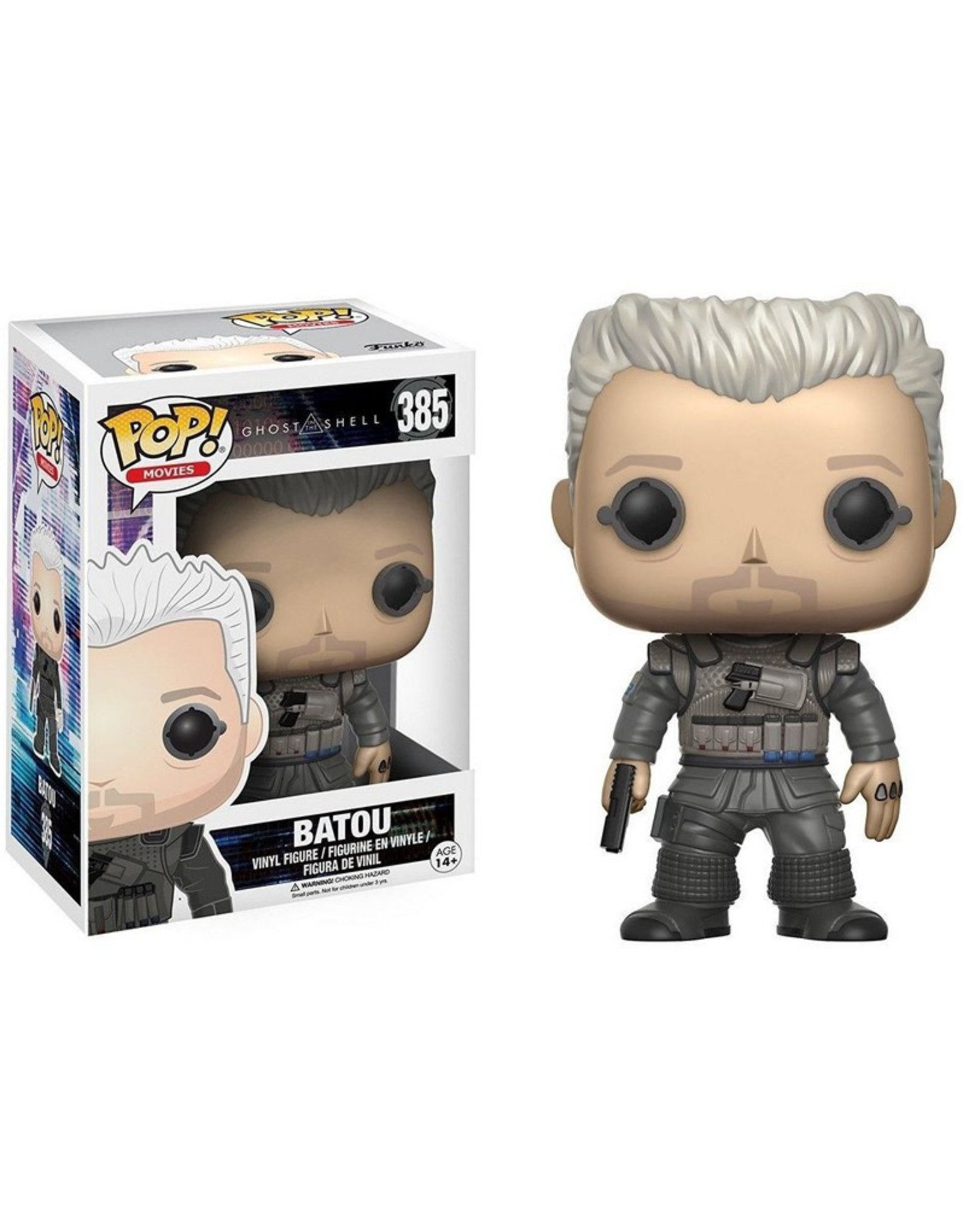 Ghost In The Shell - Batou - Funko Pop! Movies 385