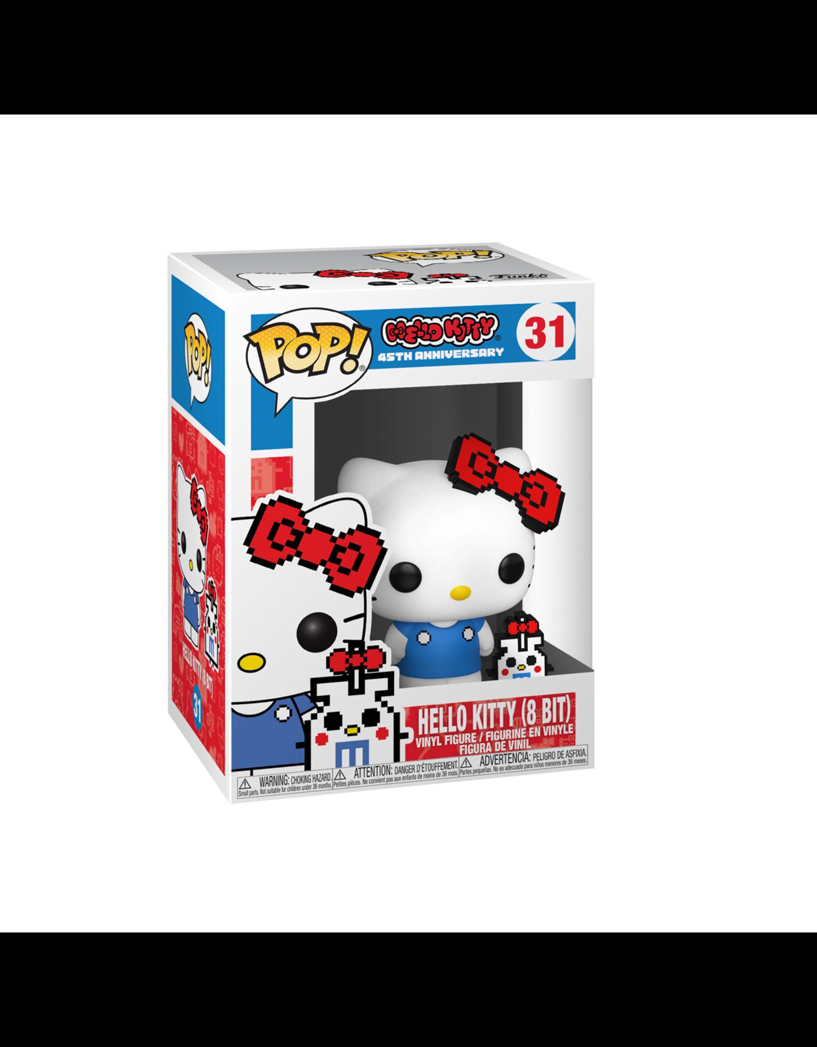 Hello Kitty - Hello Kitty (8 Bit) - Funko Pop! Hello Kitty 45th Anniversary - 31