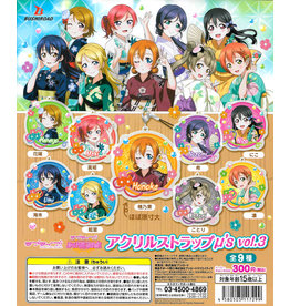 Love Live! School Idol Project - Acryl Strap keychains µ's vol.3