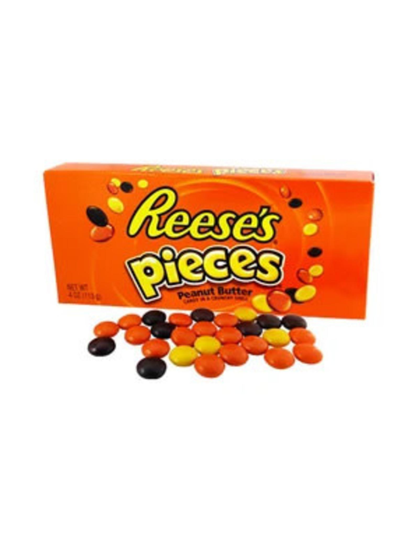Reese's Pieces - Peanut Butter Candy in a Crunchy Shell - 113g