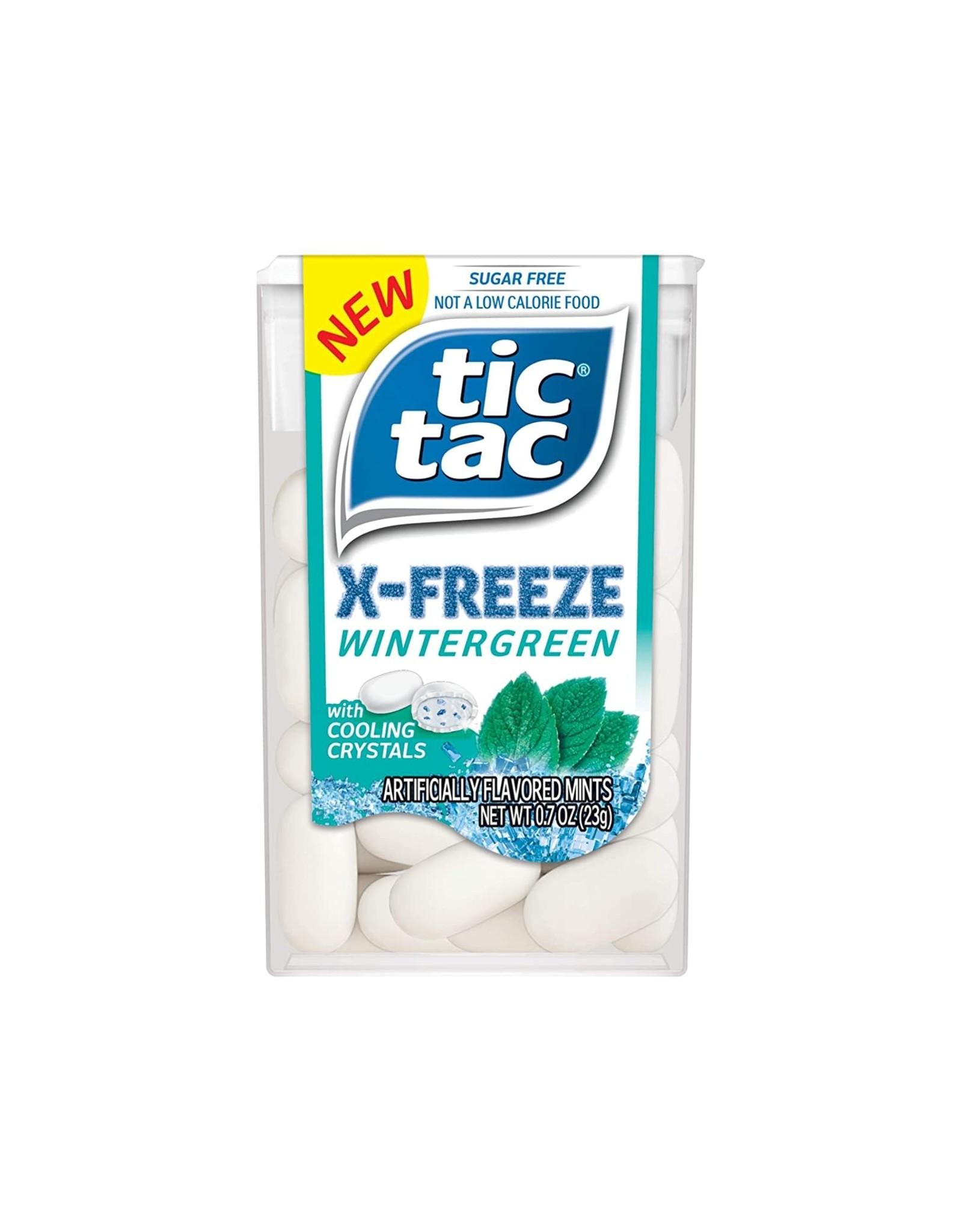 TicTac X-Freeze Wintergreen