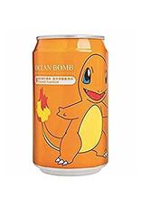 Ocean Bomb Pokémon Drink - Charmander - Orange Flavored - Deep Sea Sparkling Water