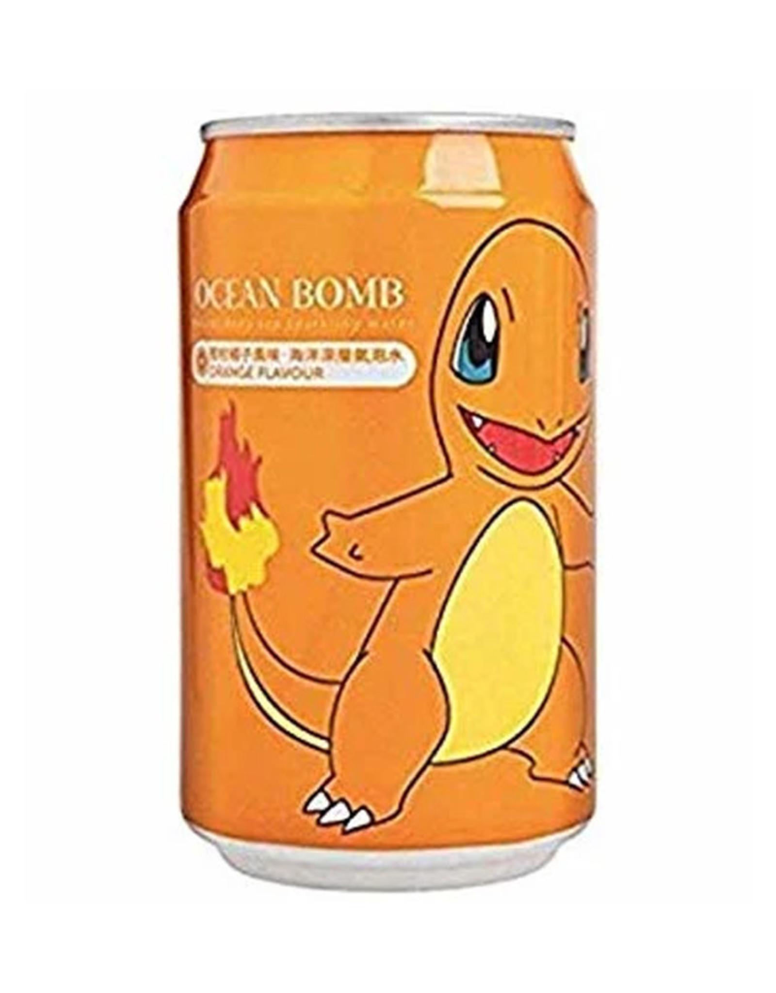 Ocean Bomb Pokémon Drink - Charmander - Spuitwater met de smaak van sinaasappel