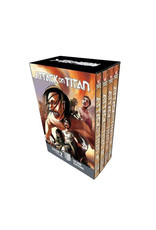Attack on Titan - Season 2 - Volumes 9 - 12 - Manga Box Set (Engelstalig)