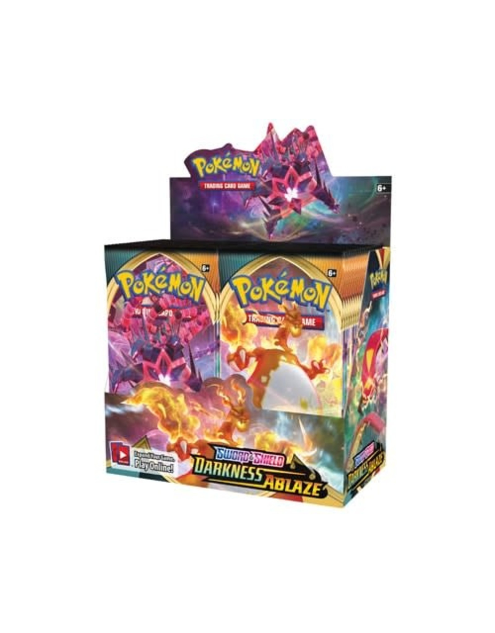 Pokemon Sword & Shield: Darkness Ablaze - Booster Box Set (36 Booster Packs)
