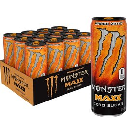 Monster Maxx Mango Matic (import) - Zero Sugar - 355 ml