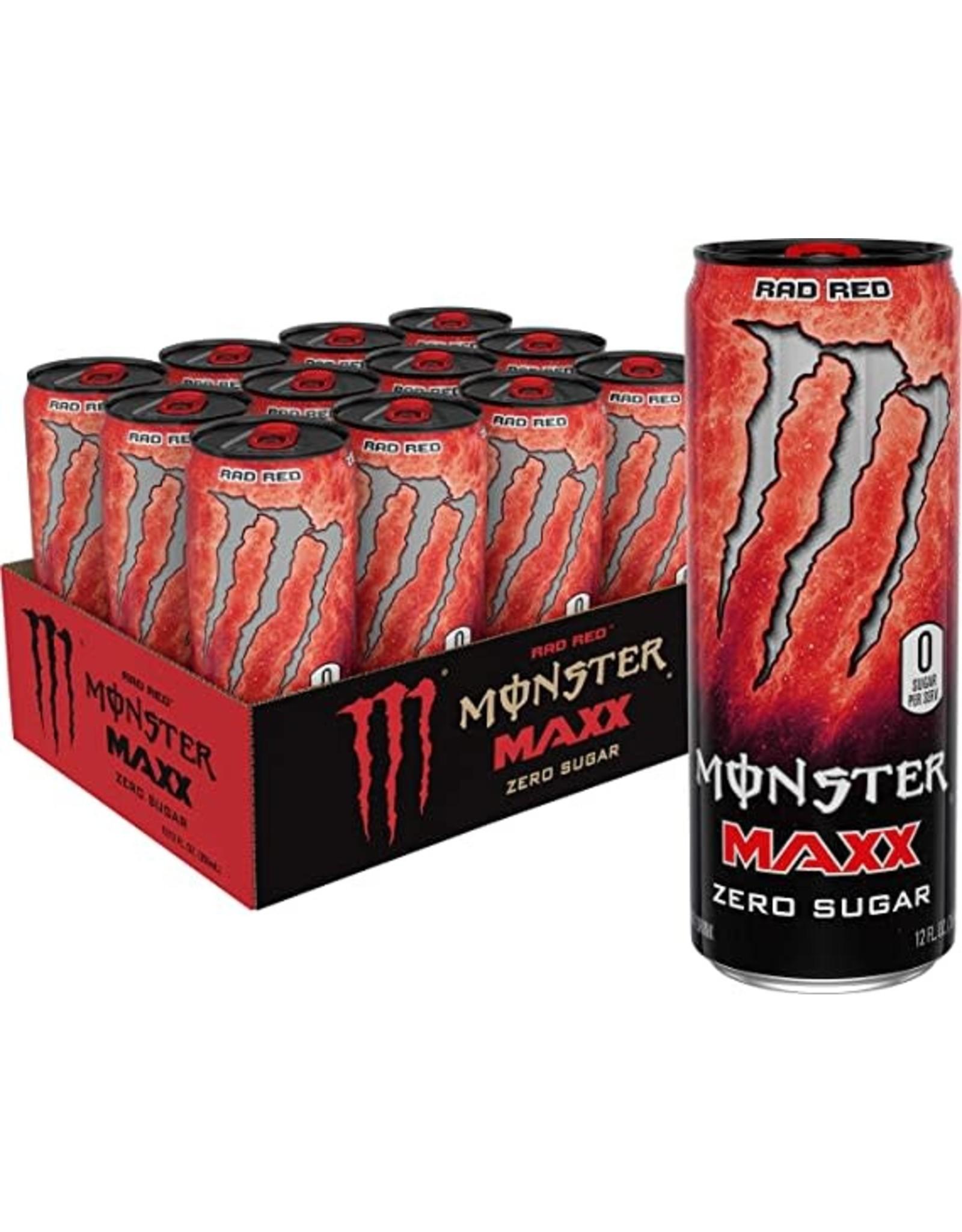 Monster Maxx Rad Red (import) - Zero Sugar - 355 ml