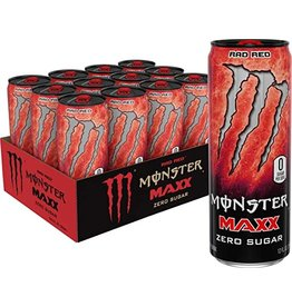 Monster Maxx Rad Red (import) - Zero Sugar - 355 ml