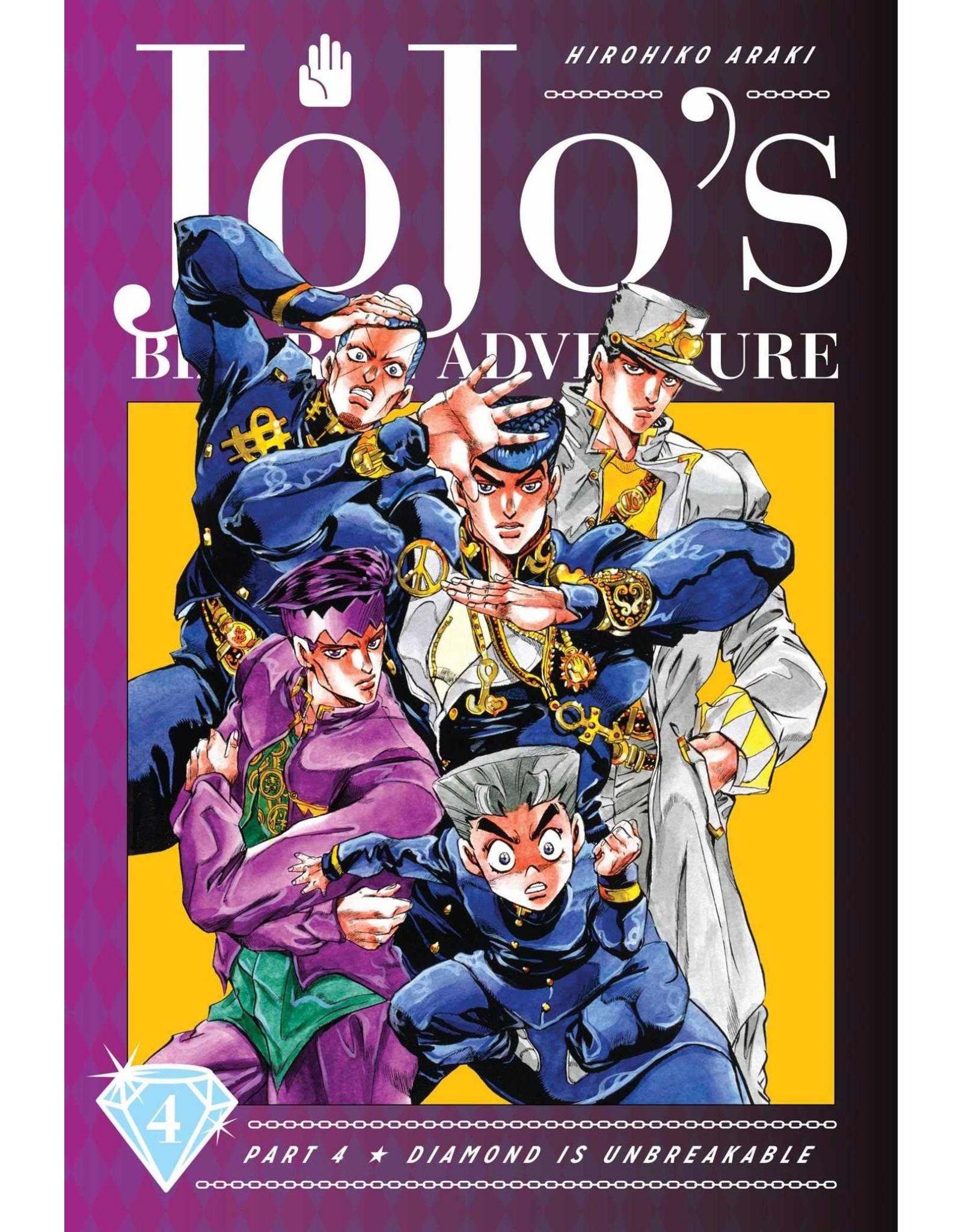 Jojo's Bizarre Adventure - Part 4: Diamond is Unbreakable - Volume 4 - Hardcover (English version)