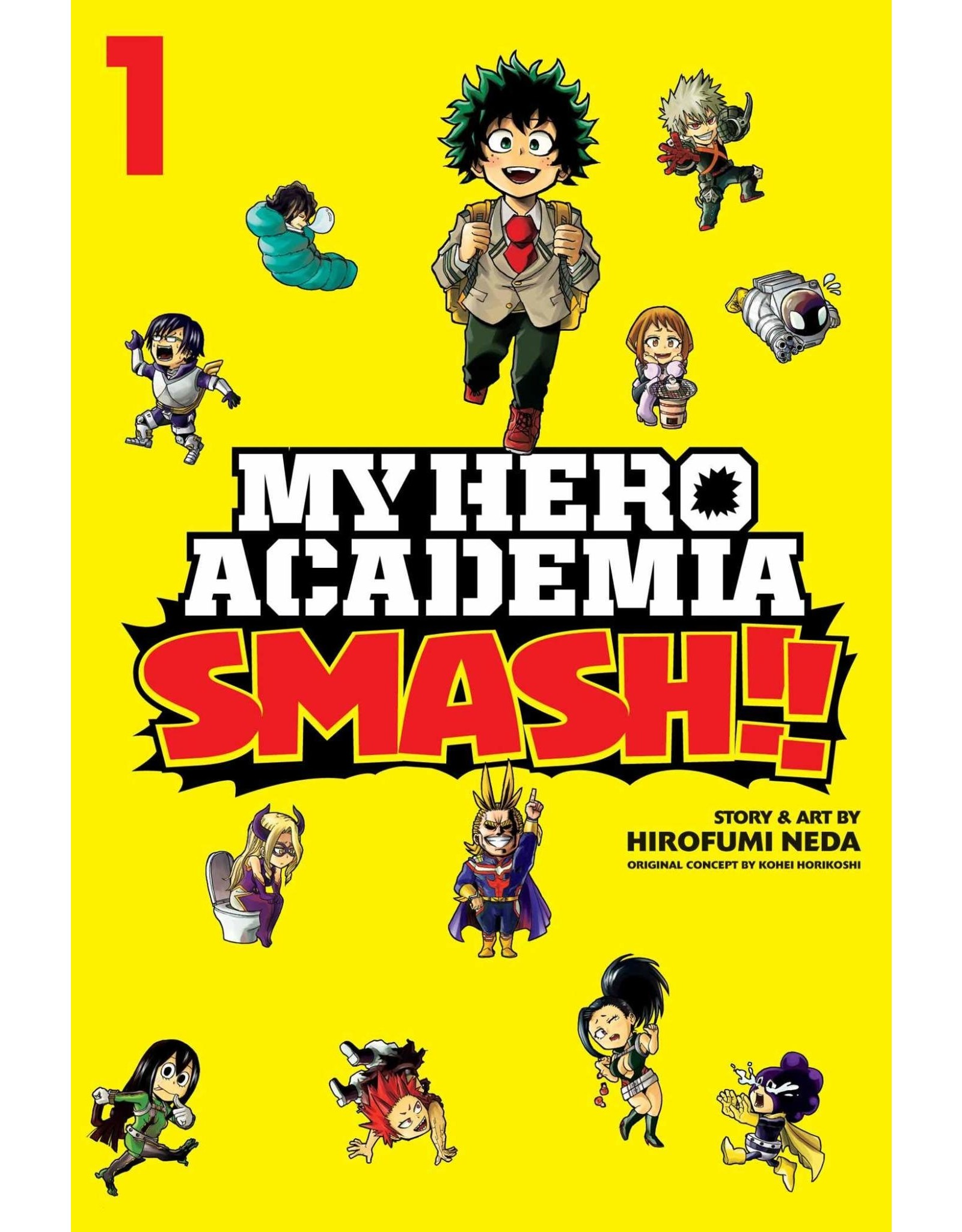 My Hero Academia Smash!! Volume 01 (English version)