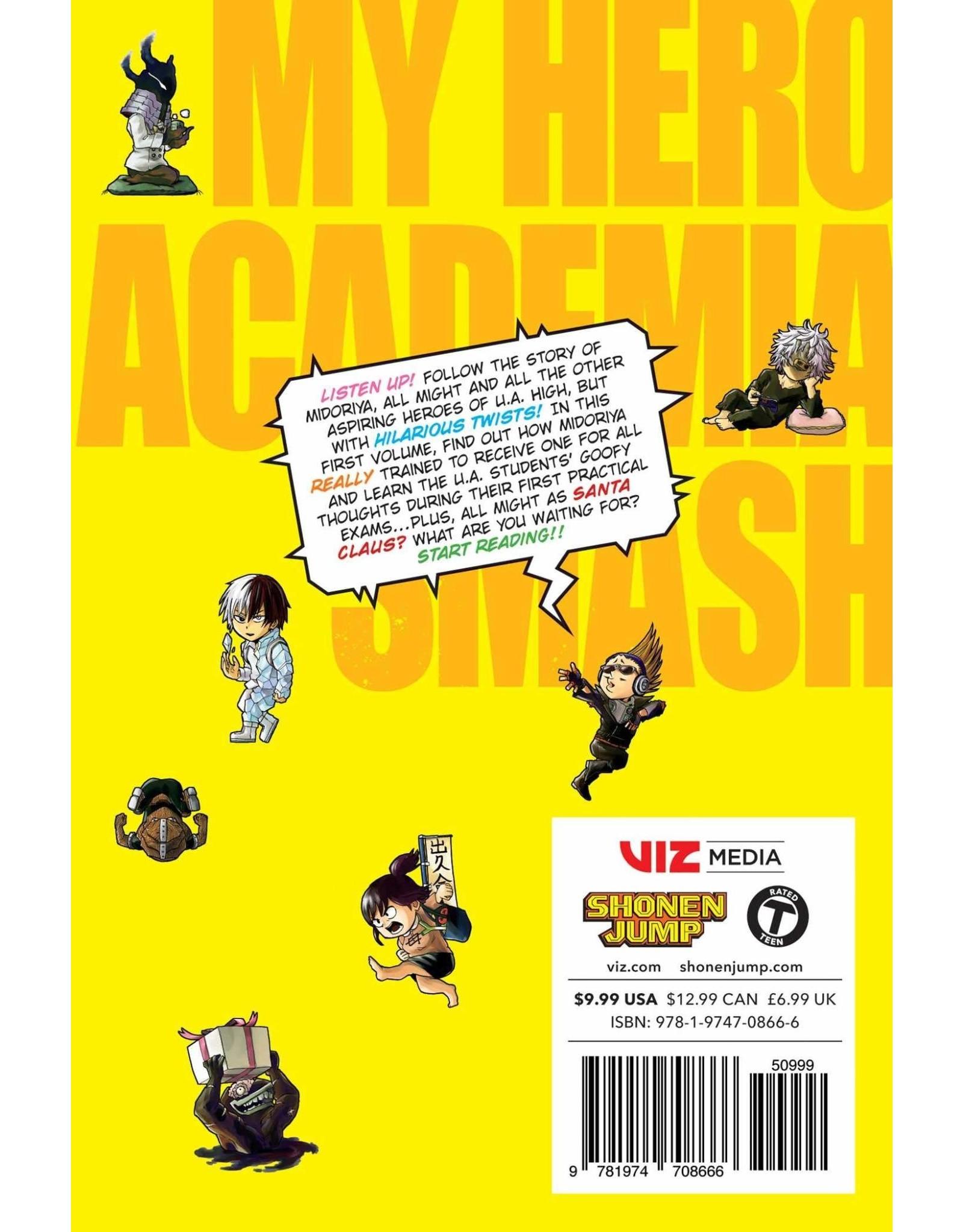 My Hero Academia Smash!! Volume 01 (Engelstalig)