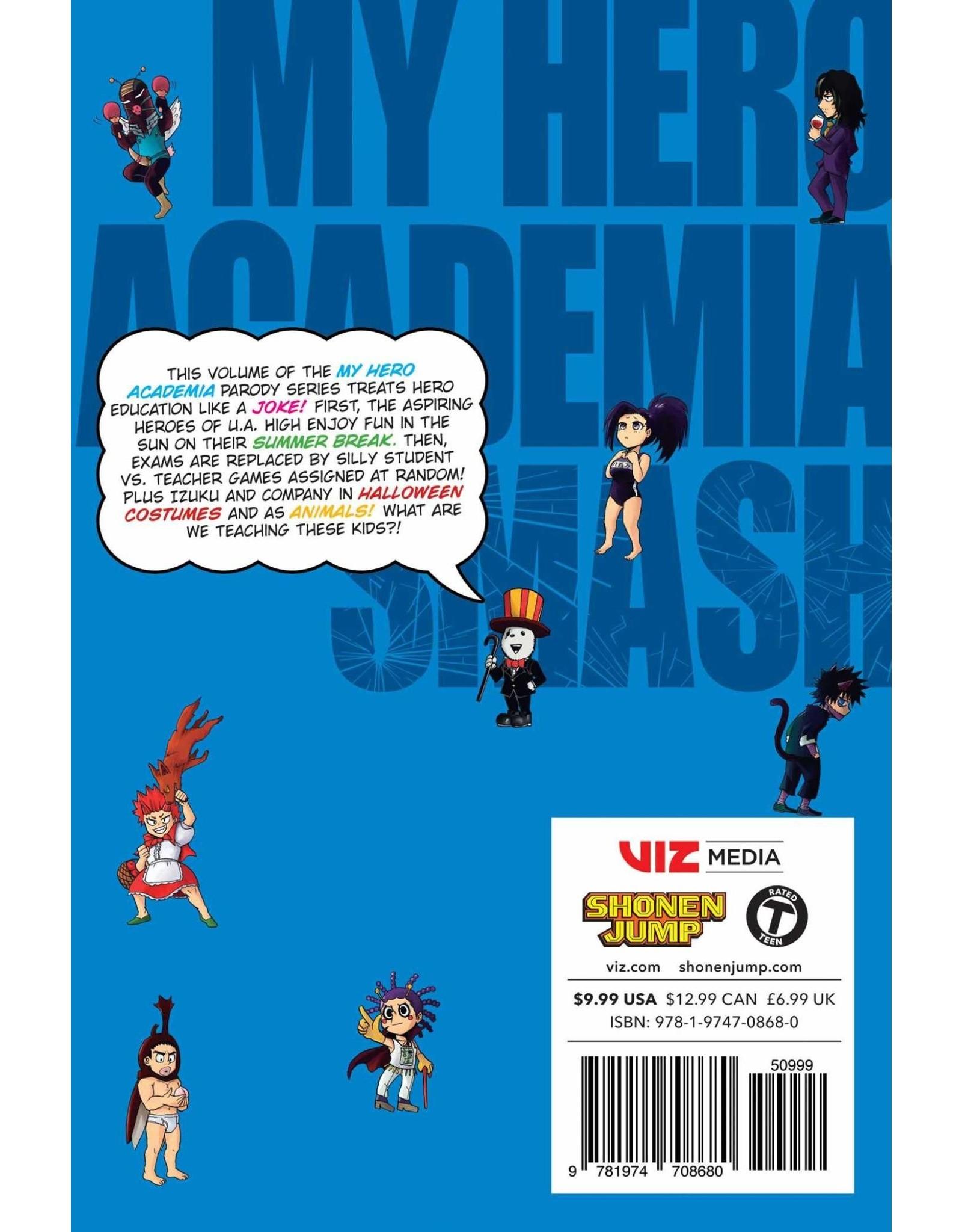 My Hero Academia Smash!! Volume 03 (English version)