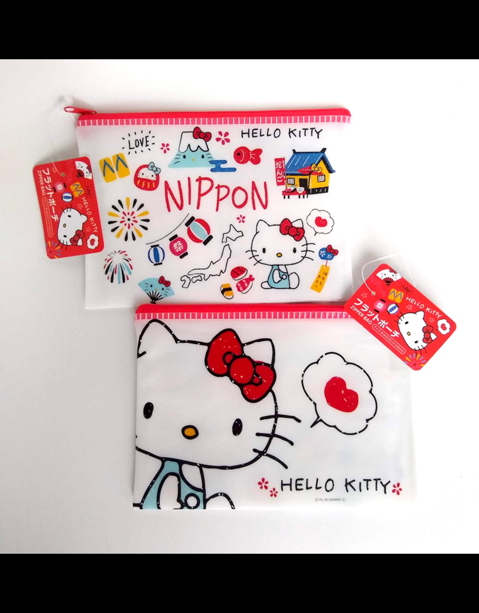 Hello Kitty Nippon - Zipper Bag - 19 x 14 cm