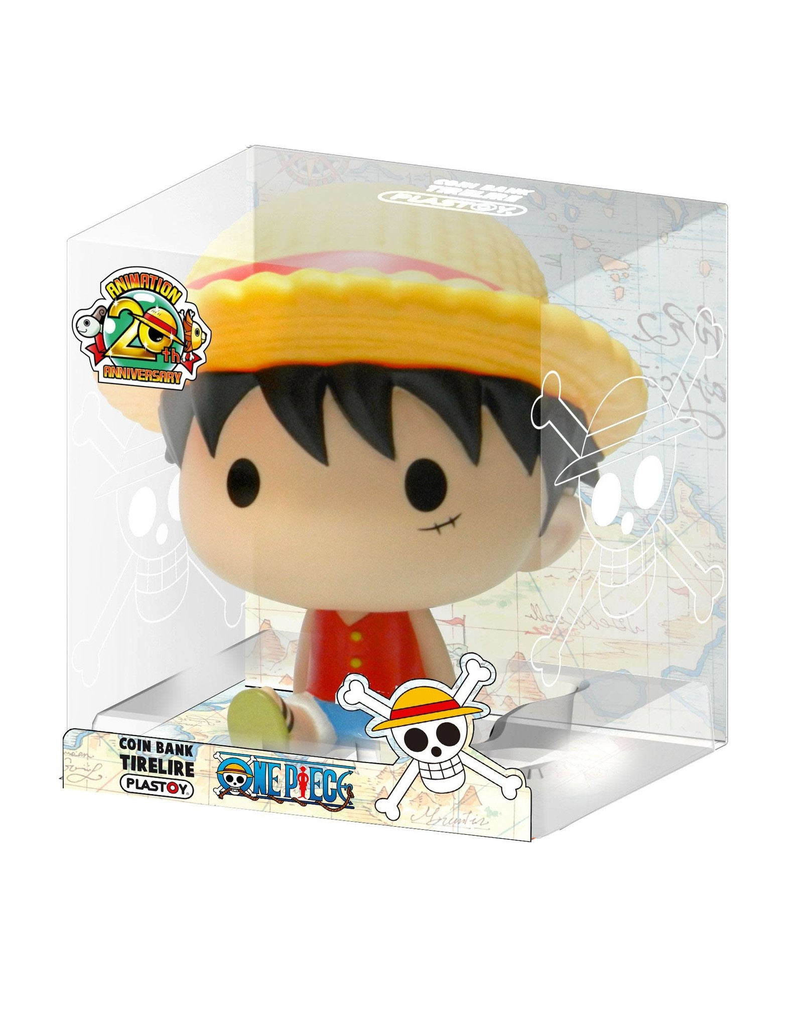 One Piece -  Chibi Coin Bank - Luffy - 15 cm