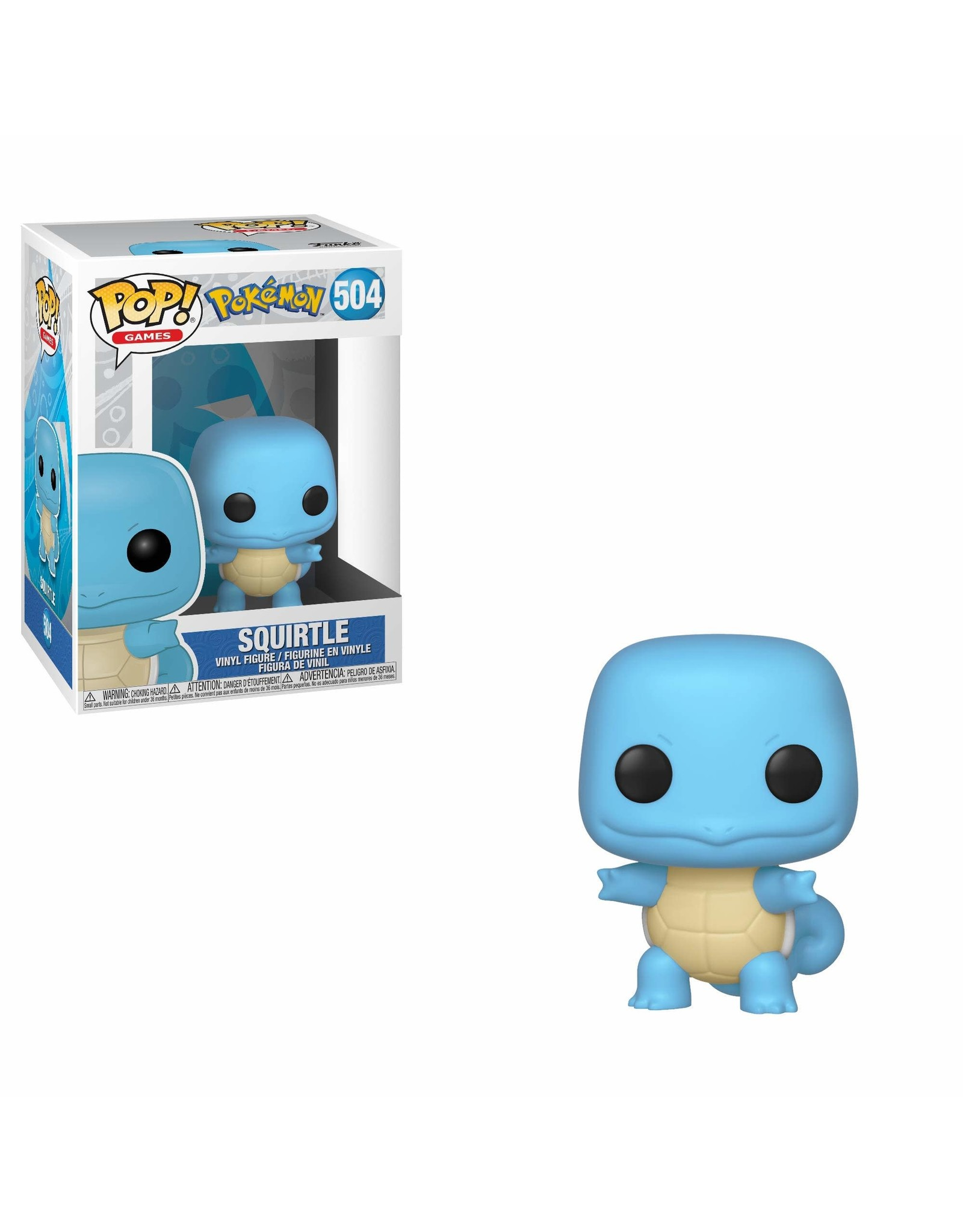 Pokémon - Funko Pop! Games 504 - Squirtle