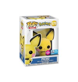 Pokémon - Funko Pop! Games 579 - Pichu Flocked - 2020 Limited Edition
