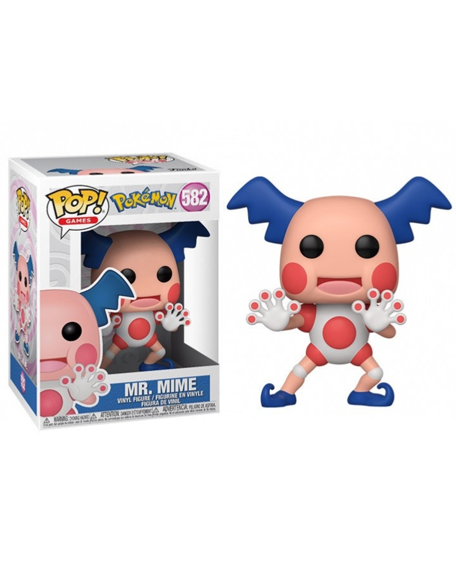 Pokémon - Funko Pop! Games 582 - Mr. Mime