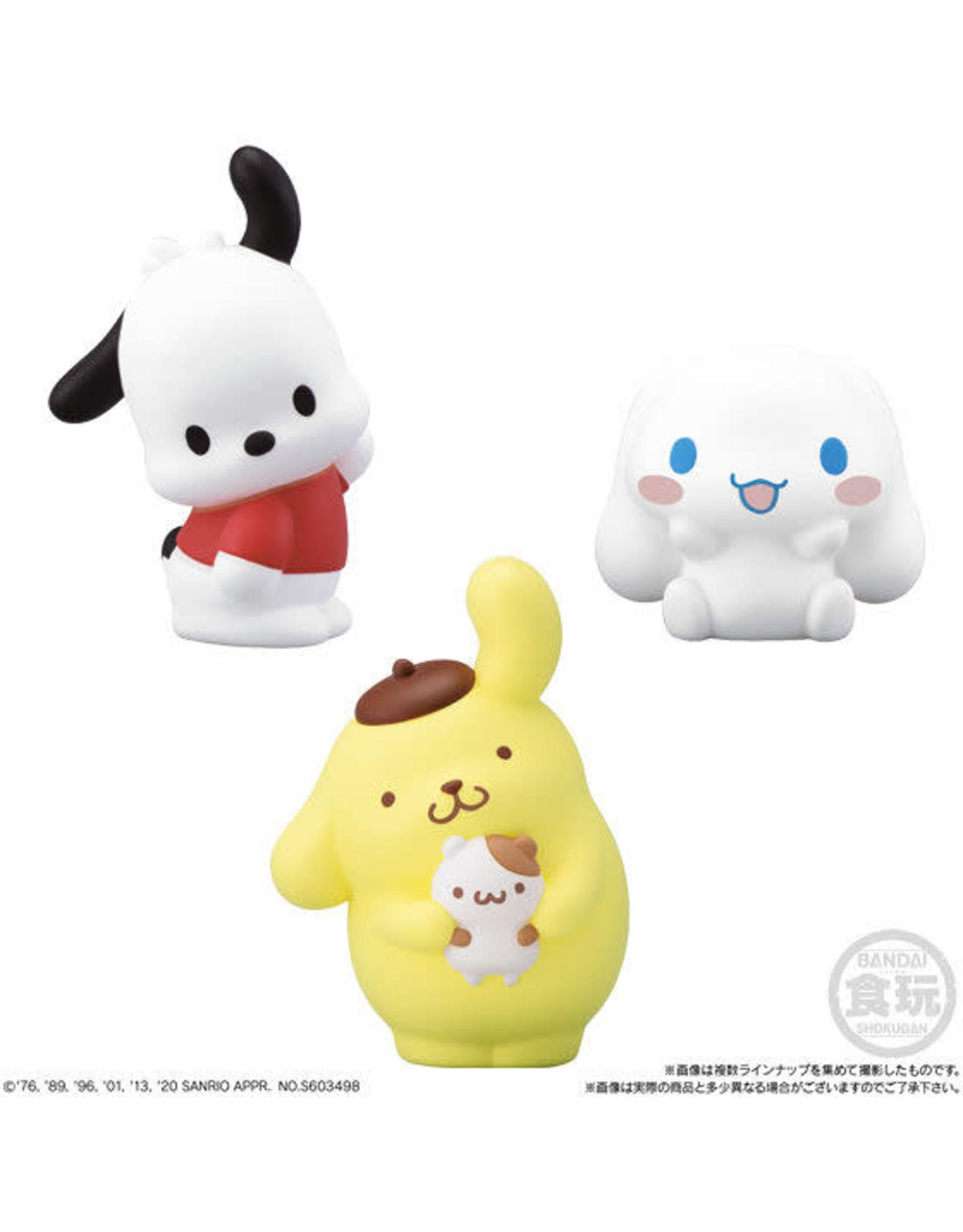 Sanrio Characters Friends - Kauwgom + Collectible Mini Figure