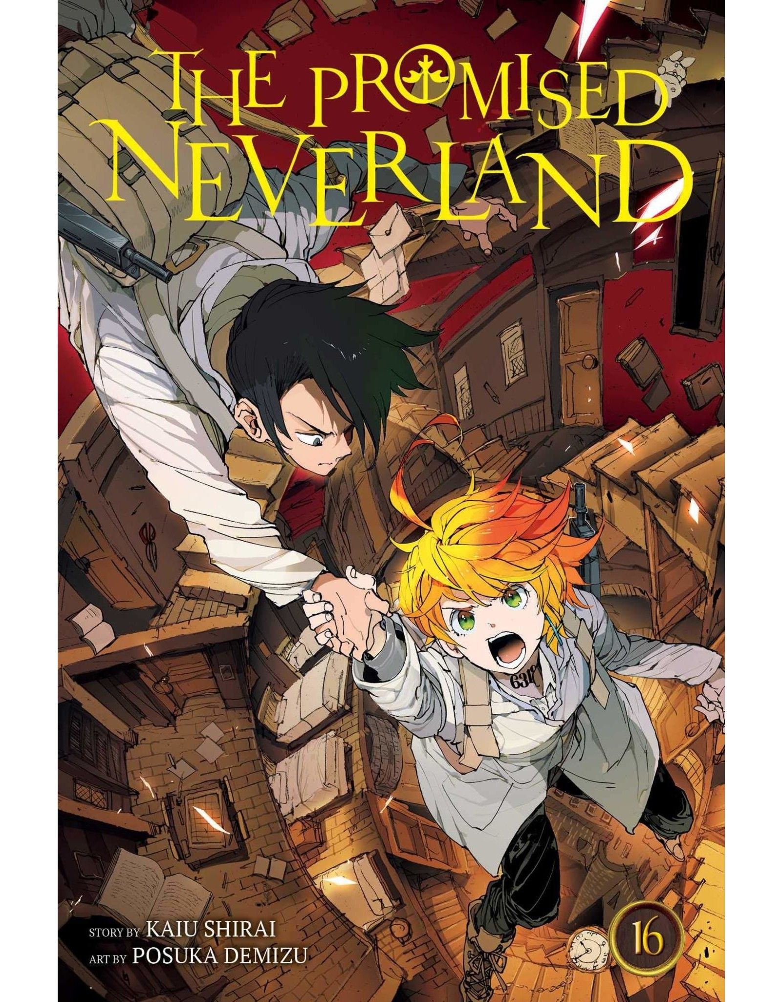 The Promised Neverland 16 (English version)
