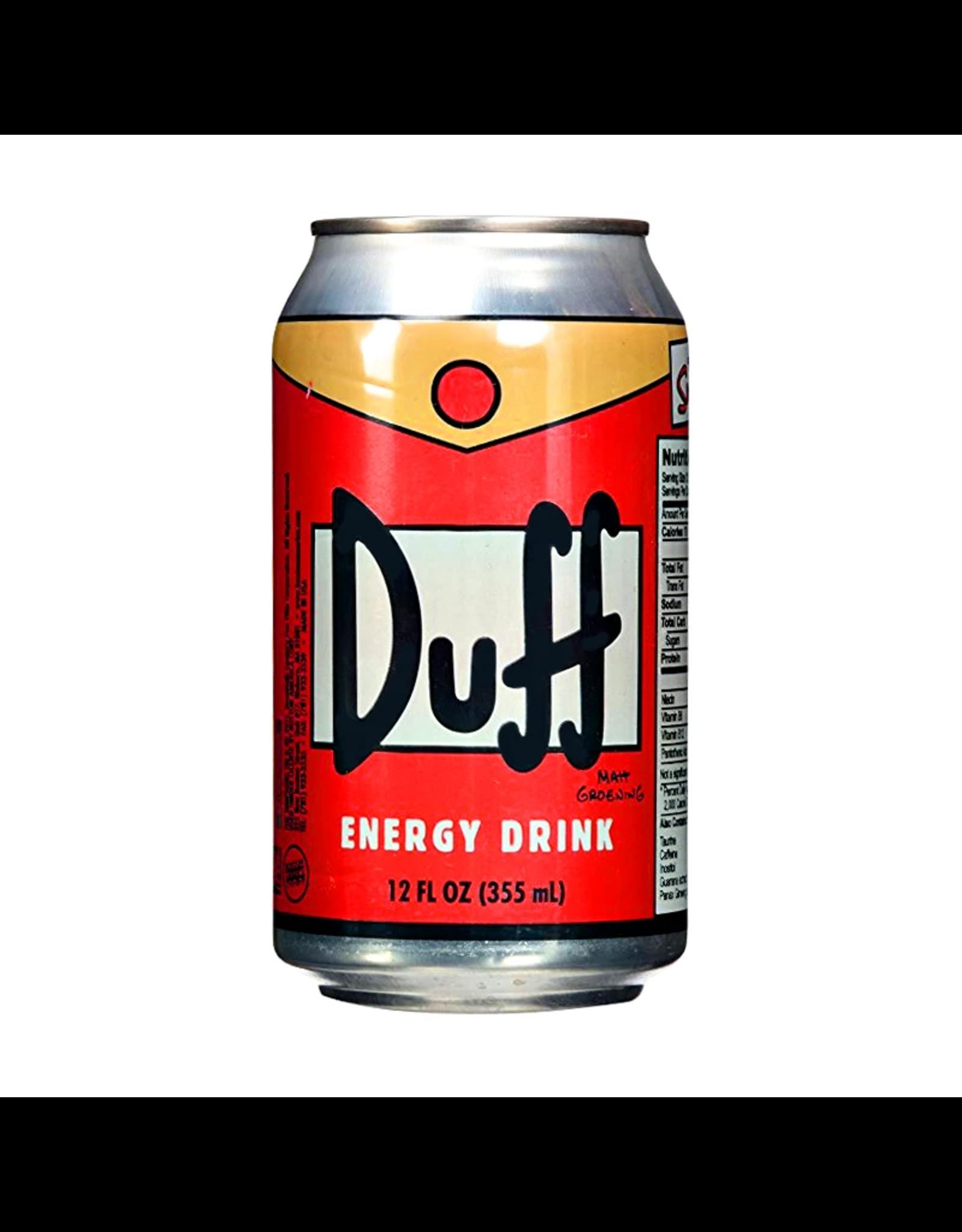 Duff Energy Drink - The Simpsons - 355ml