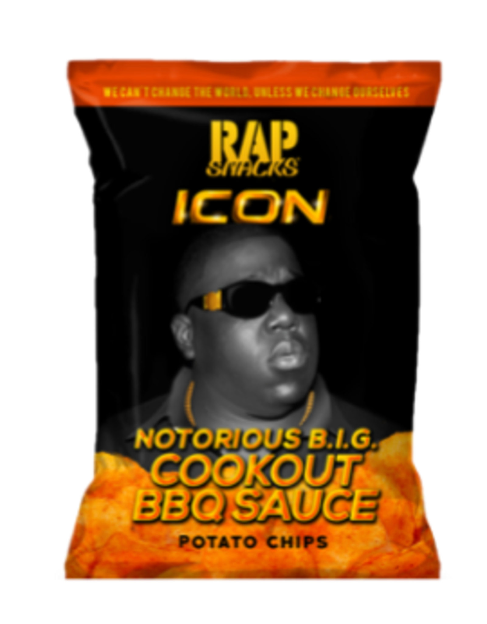 Rap Snacks ICON - Notorious B.I.G. - Cookout BBQ Sauce Potato Chips - 78g