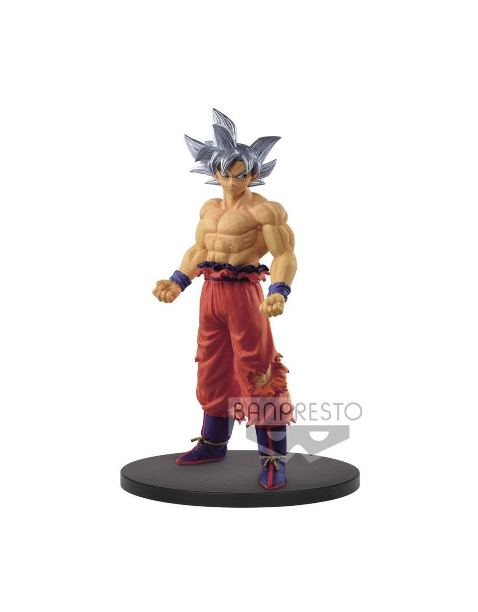 Dragon Ball Super - Creator X Creator - Son Goku Ultra Instinct Version B - PVC Statue - 19 cm
