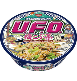 UFO Fried Noodles Yakisoba Ume Kombucha (kelp & plum) - Limited Edition
