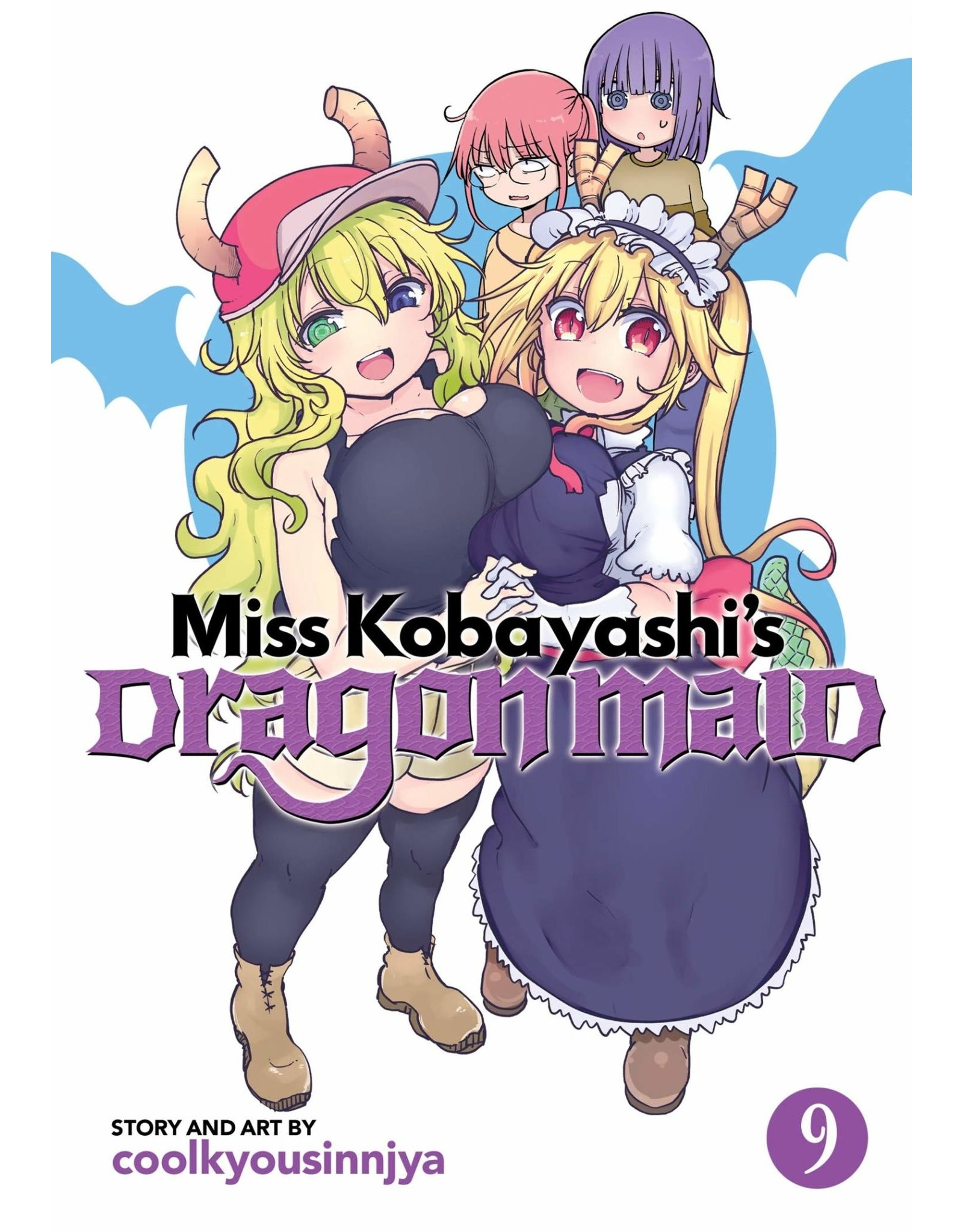 Miss Kobayashi's Dragon Maid 9 (Engelstalig)
