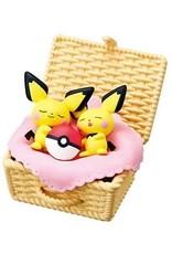 Re-Ment - Pokémon - Utatane Basket - Volledige set van 6